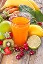 Multivitamin juice Royalty Free Stock Photo