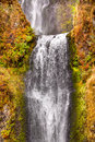 Multnomah Waterfall Columbia River Gorge Oregon Stock Photography