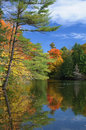Mulvihill Lake, Gatineau Park Stock Photography