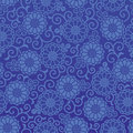 Mum background and arabesque blue pattern Stock Photography