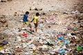 Mumbai Slum life Royalty Free Stock Photo