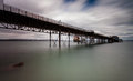 Mumbles pier and lifeboat station Royalty Free Stock Photo