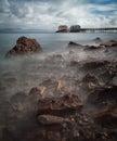 Mumbles pier Swansea Royalty Free Stock Photo