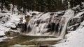 Mumlava Waterfall Royalty Free Stock Photo