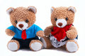 Mummy & Daddy Teddy bears Royalty Free Stock Photo