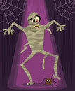 Mummy halloween character vector illustration Royalty Free Stock Photography