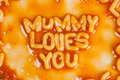 Mummy loves you Stock Photos