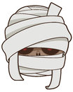 Mummy vector clip art illustration Royalty Free Stock Images