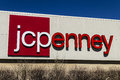 Muncie - Circa March 2017: JC Penney Retail Mall Location. JCP is an Apparel and Home Furnishing Retailer VII Royalty Free Stock Photo