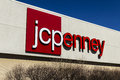 Muncie - Circa March 2017: JC Penney Retail Mall Location. JCP is an Apparel and Home Furnishing Retailer VIII Royalty Free Stock Photo
