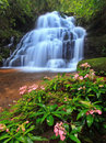 Mundeang waterfall in phu hin rong kao national park phetchabun thailand Stock Photography