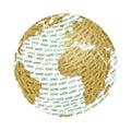 Mundo y ecología Imagenes de archivo