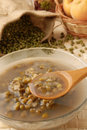 Mung Bean Dessert Soup Stock Photo