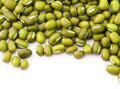 Mung bean isolated on white background Stock Images