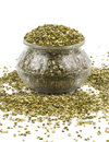 Mung beans indian traditional food Royalty Free Stock Photography