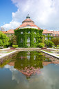 Munich Botanic garden Stock Photo