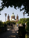 Munich Church of St. Luke Royalty Free Stock Photo