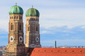 Munich frauenkirche bavaria germa cathedral of our dear lady germany Stock Photo