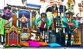 Munich, Germany - German fairground organ playing