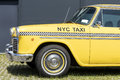 Munich, Germany - June 25,2016: Vintage New York Yellow Taxi Cab Royalty Free Stock Photo
