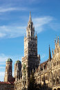 Munich Neues Rathaus Stock Photo