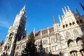Munich Neues Rathaus Royalty Free Stock Image