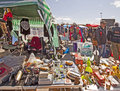 Munich, Open air flea market - Riesenflohmarkt Stock Images