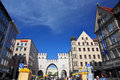 Munich Street Royalty Free Stock Images