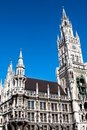 Munich Town Hall Royalty Free Stock Images