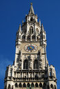 Munich Town Hall clock Royalty Free Stock Photo