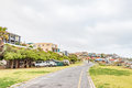 Municipal camping grounds in Strandfontein Royalty Free Stock Photo