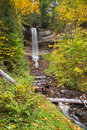 Munising Falls Royalty Free Stock Photo