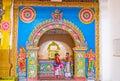Munneswaram Temple interior