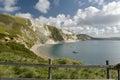 Mupe Bay near Lulworth Cove Royalty Free Stock Photo