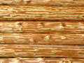 Mur en bois de logarithme naturel Photo stock