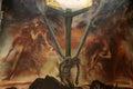 Mural Of Jesus On The Cross Wi...