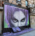 Mural Of Prince Royalty Free Stock Photo
