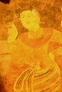 Murals of wat phumin last up to years since Royalty Free Stock Image