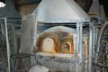 Murano glass oven in the little island near venice Stock Photos