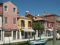 Murano island fondamenta dei vetral Royalty Free Stock Images