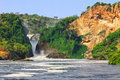 Murchison Falls Stock Photo