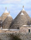 Murge puglia italy characteristic trulli near countryside alberobello Stock Photo