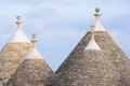 Murge puglia italy characteristic trulli near countryside alberobello Royalty Free Stock Photo