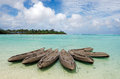Muri Lagoon in Rarotonga Cook Islands Royalty Free Stock Photo
