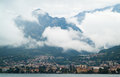 Murky Lake Como Royalty Free Stock Photo