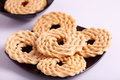 Murukku is a savoury snack from india popular in south Royalty Free Stock Image