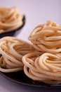 Murukku is a savoury snack from india popular in south Stock Image