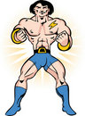 Muscle Hero Royalty Free Stock Photo