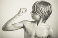 Muscles Royalty Free Stock Photo