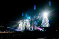 Muse live concert in turin on june th Stock Photography